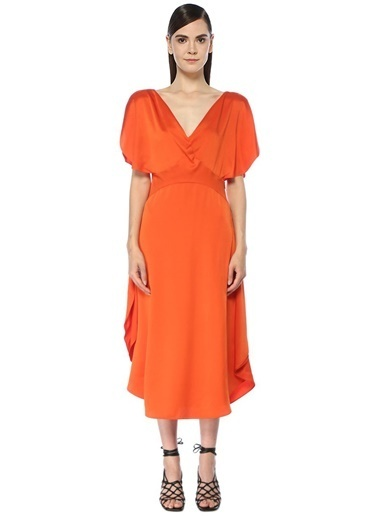 Stella McCartney Elbise Oranj